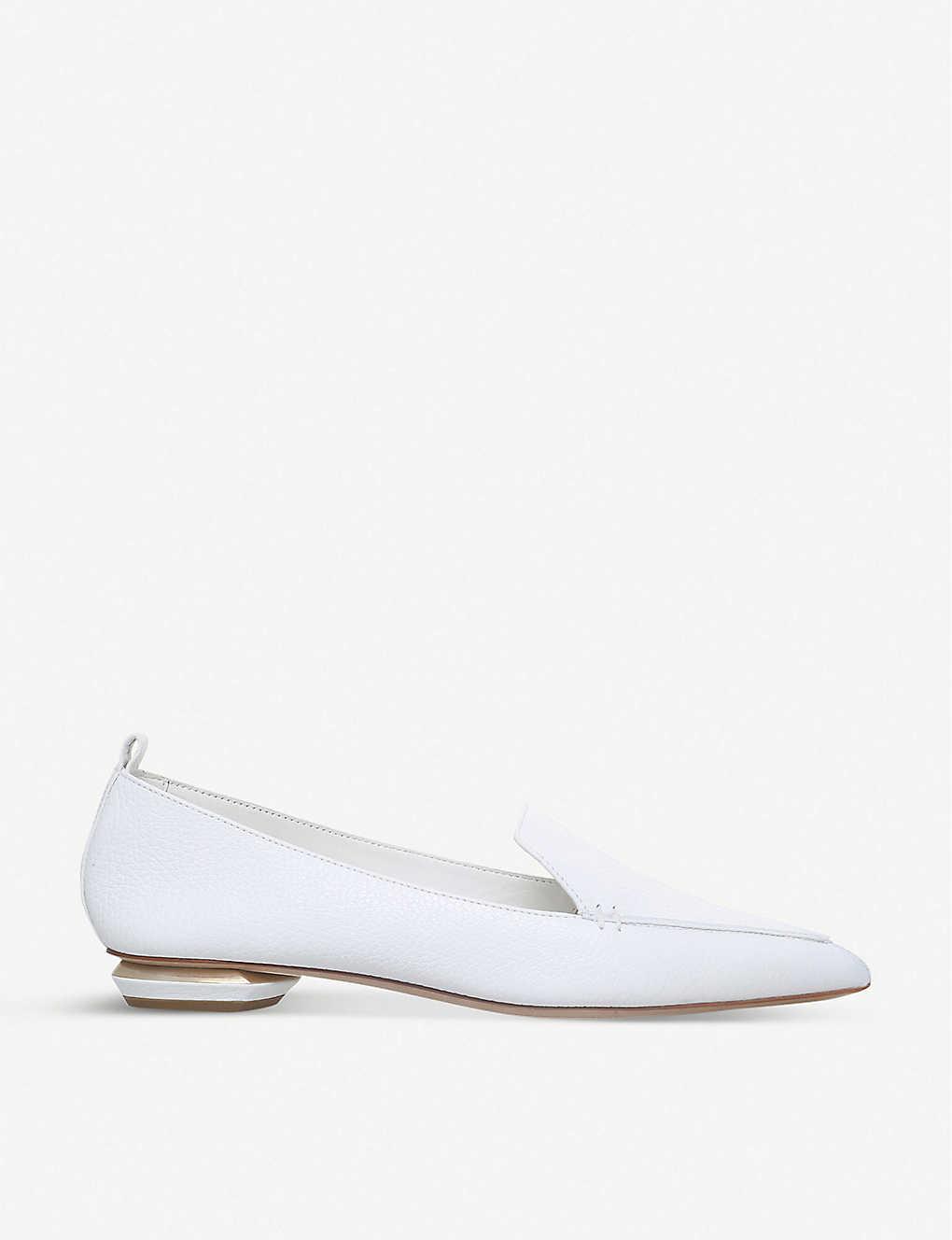 25033349f0f9 NICHOLAS KIRKWOOD - Beya grained-leather loafers