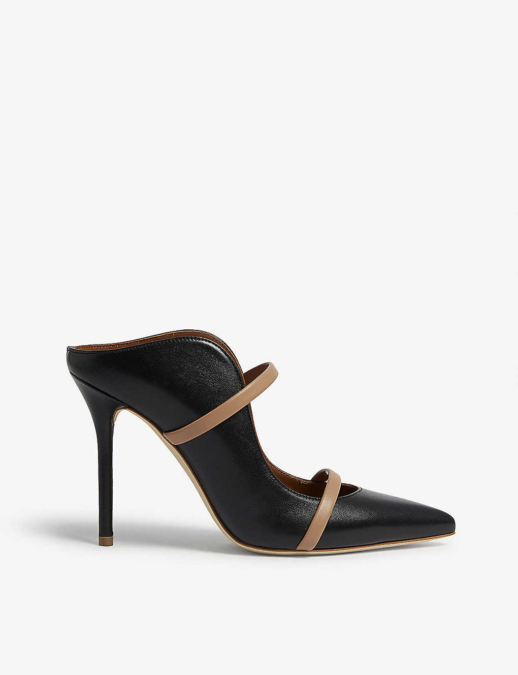 MALONE SOULIERS: Maureen leather mules