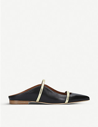 MALONE SOULIERS: Maureen leather flats