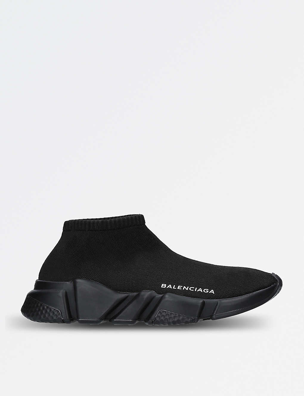 f5b2f6d127c BALENCIAGA - Speed low-top stretch-knit trainers
