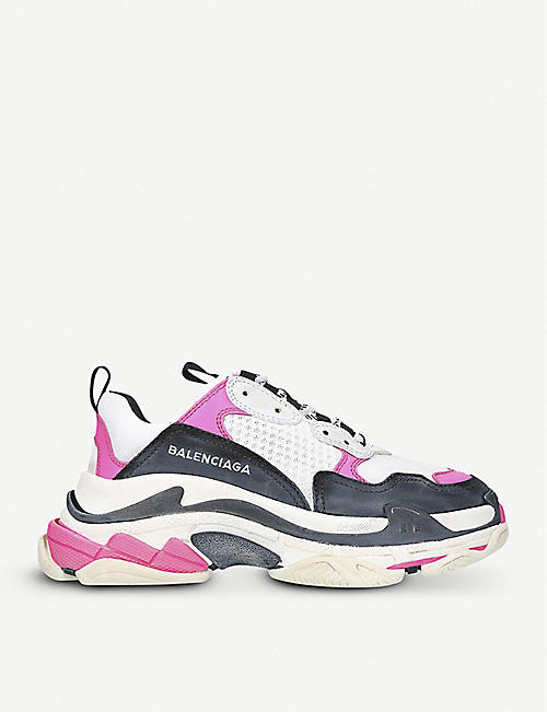 cheaper fe233 7e8e0 BALENCIAGA Triple S oversized trainers