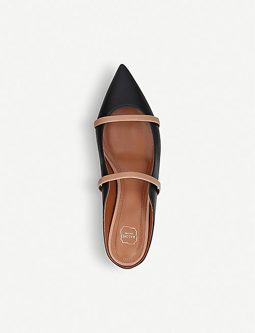 MALONE SOULIERS Maureen leather flats