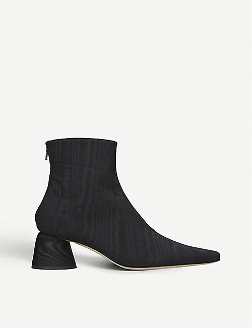 ELLERY: Court leather ankle boots
