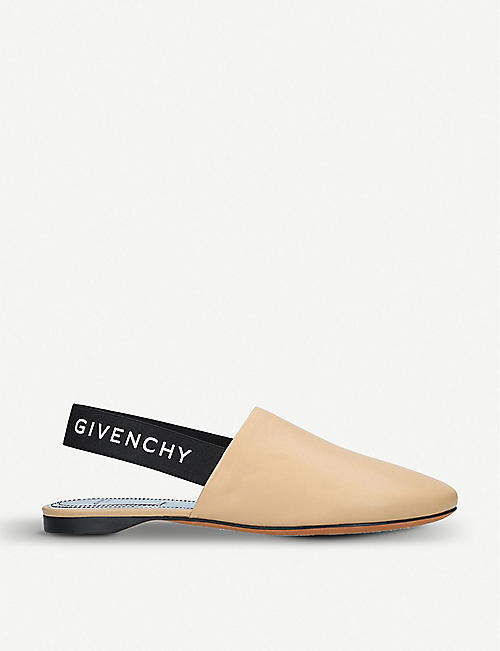 172cf4a420f9 GIVENCHY Rivington leather slingback mules