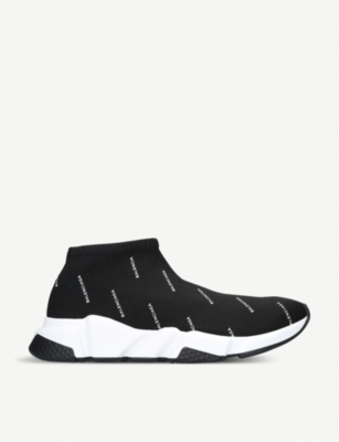 BALENCIAGA Speed low-top stretch-knit trainers