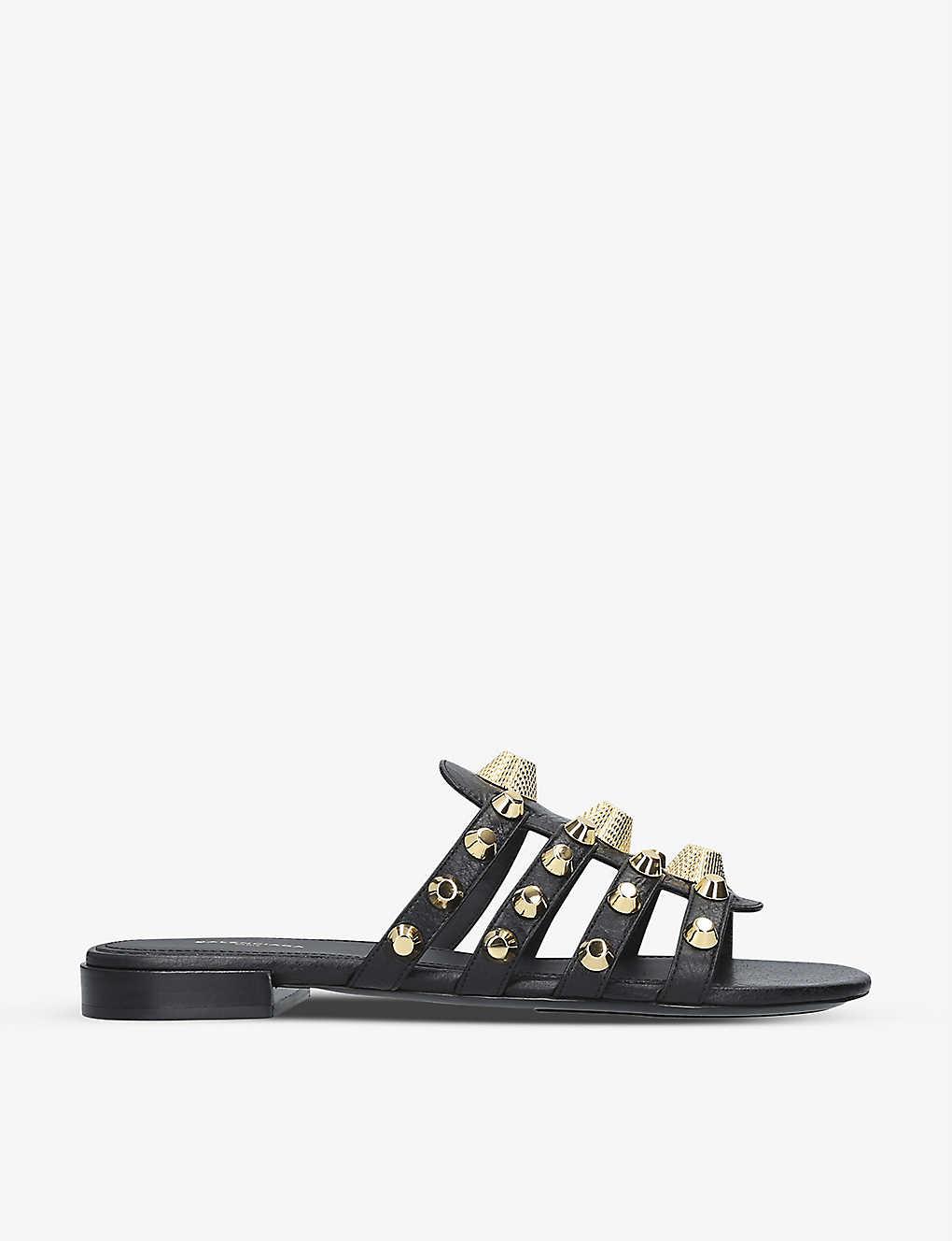 Balenciaga Sandals Gwen leather sandals