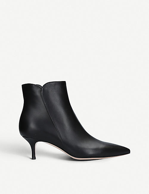 28e0c7179f8 GIANVITO ROSSI Levy 55 leather ankle boots