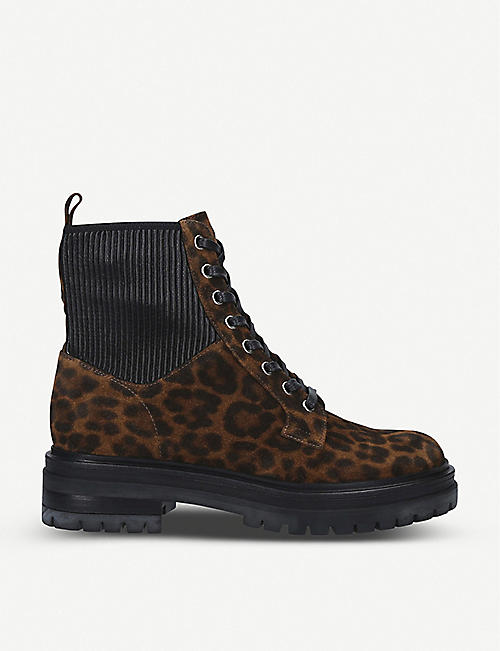 GIANVITO ROSSI Martis 20 leopard-print suede boots