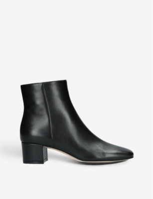 GIANVITO ROSSI Trish 45 leather ankle boots