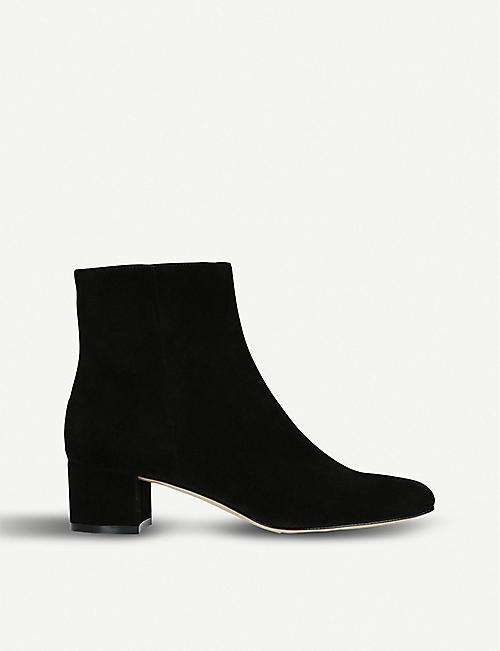 db099f9a3ef8 GIANVITO ROSSI Trish 45 suede ankle boots