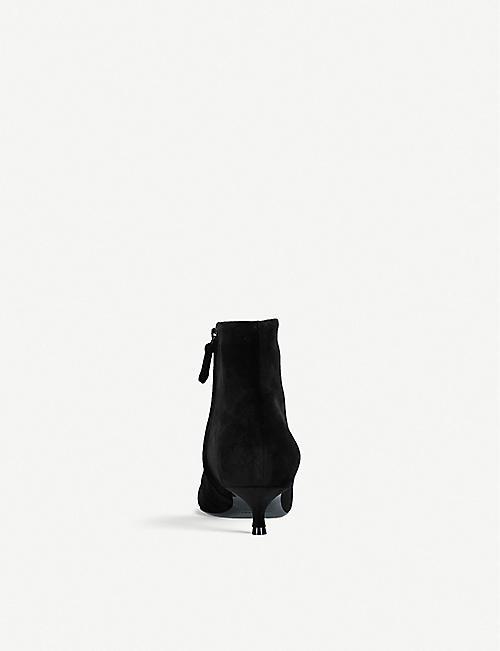 43cab91badc7 BALENCIAGA BB embellished velvet ankle boots