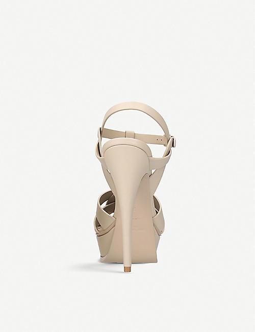 4861caa818a6 SAINT LAURENT Tribute 105 leather platform sandals. Quick Shop. Wish list