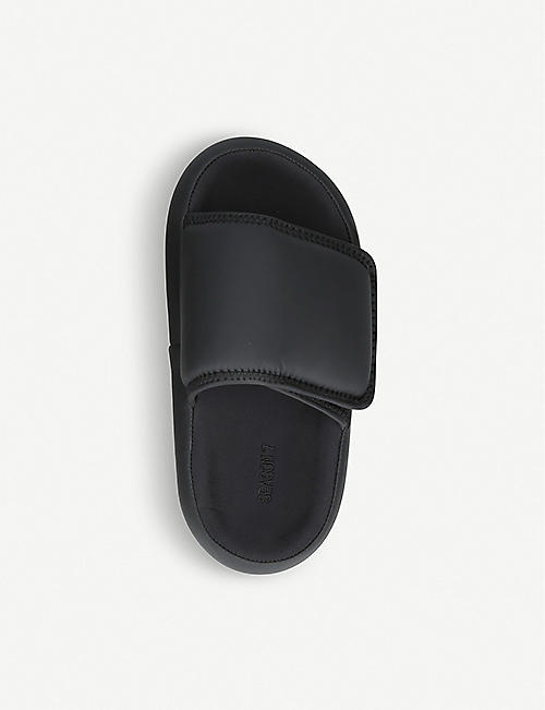 YEEZY Open-toe neoprene slides