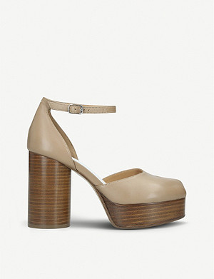 MAISON MARGIELA Tabi leather platforms