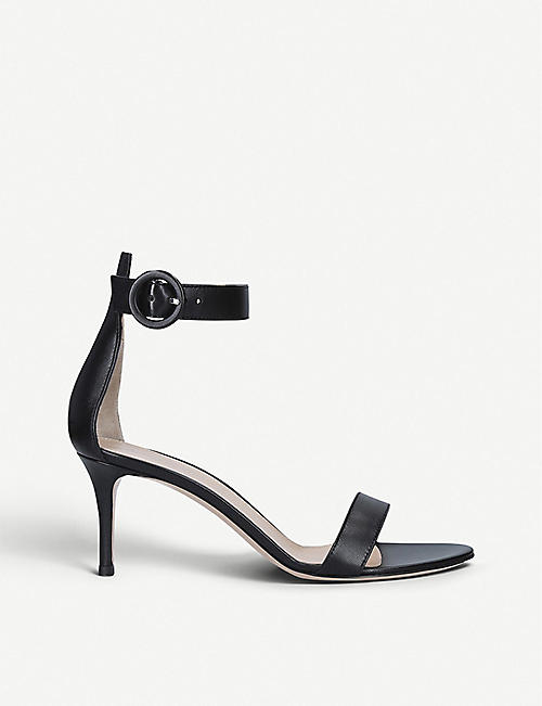 GIANVITO ROSSI Portofino 70 leather heeled sandals