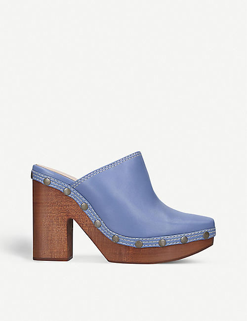 JACQUEMUS Les Sabots leather mules