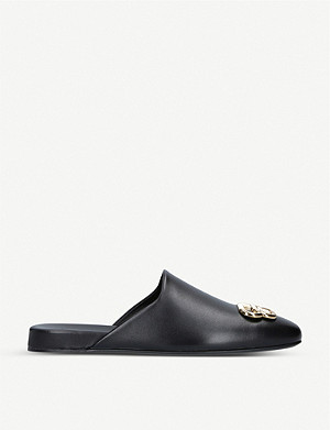BALENCIAGA Knife leather mules