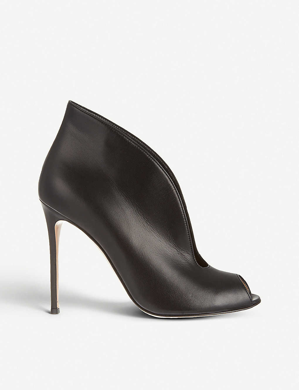 298755e83 GIANVITO ROSSI - Vamp 105 leather heeled ankle boots | Selfridges.com