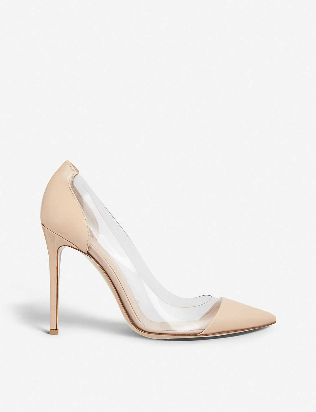 ce2add63abd815 GIANVITO ROSSI - Plexi 105 patent-leather courts