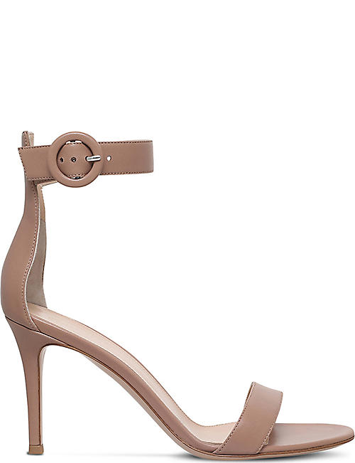 4ef029ef029 GIANVITO ROSSI Louis leather heeled sandals