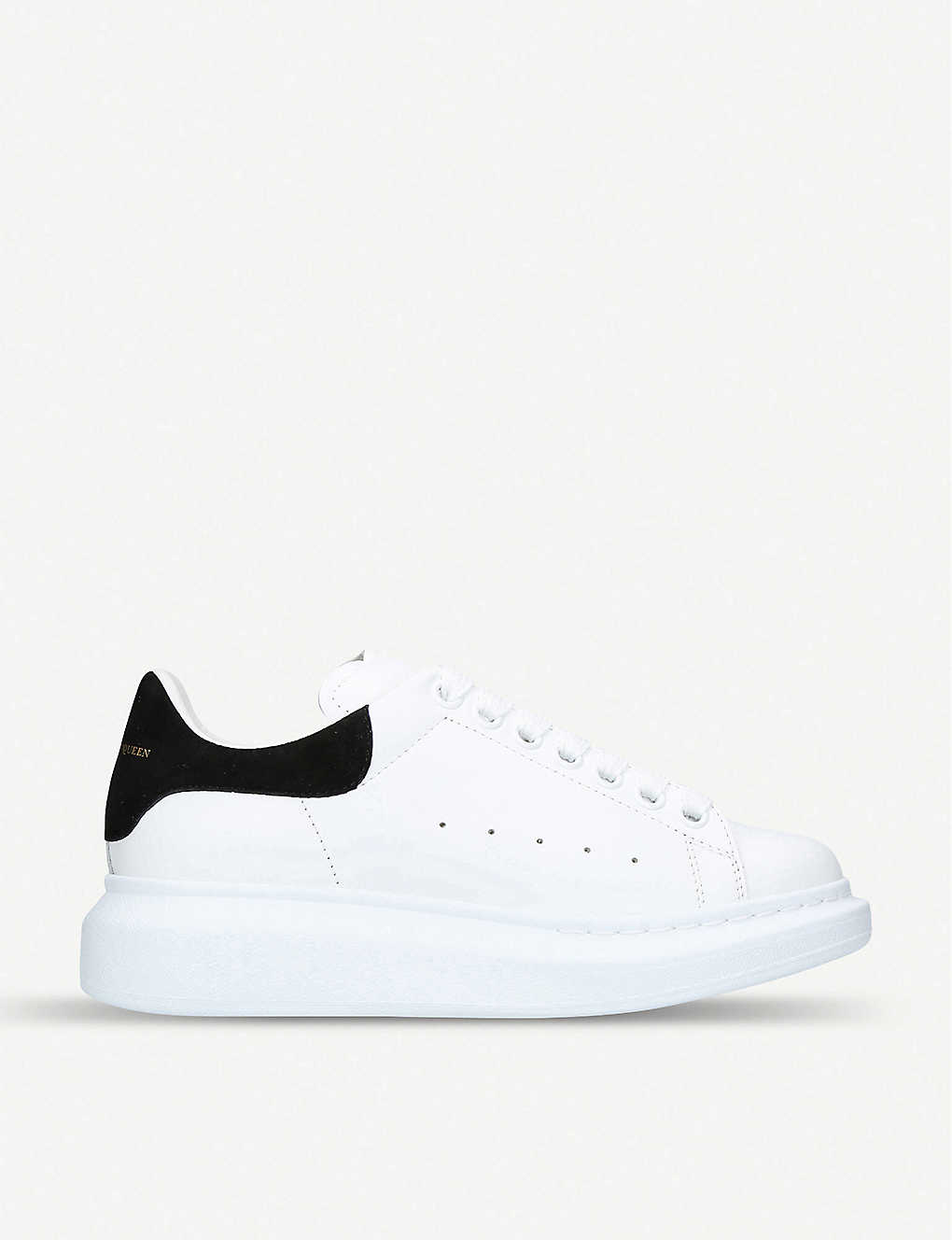 291e05118936da ALEXANDER MCQUEEN - Runway leather platform trainers | Selfridges.com