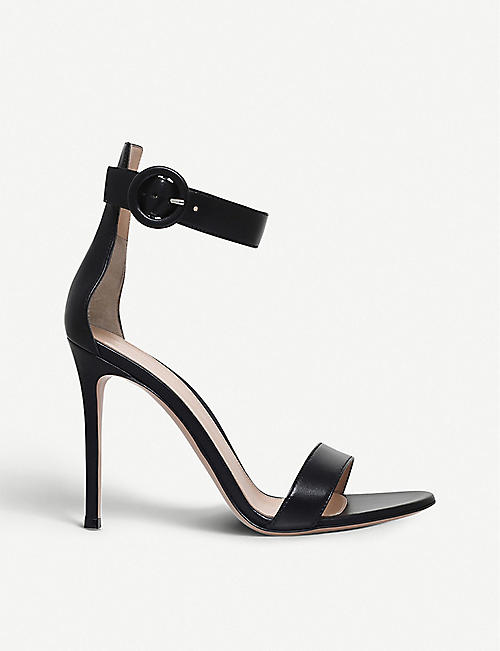 GIANVITO ROSSI Portofino leather sandals