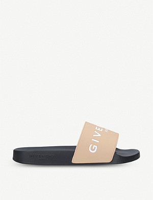580feab57a9 GIVENCHY - Logo-detail rubber sliders