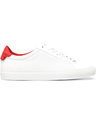 GIVENCHY: Knot leather trainers