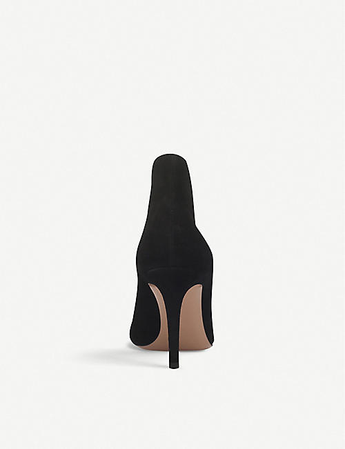 GIANVITO ROSSI Vania suede heeled ankle boots
