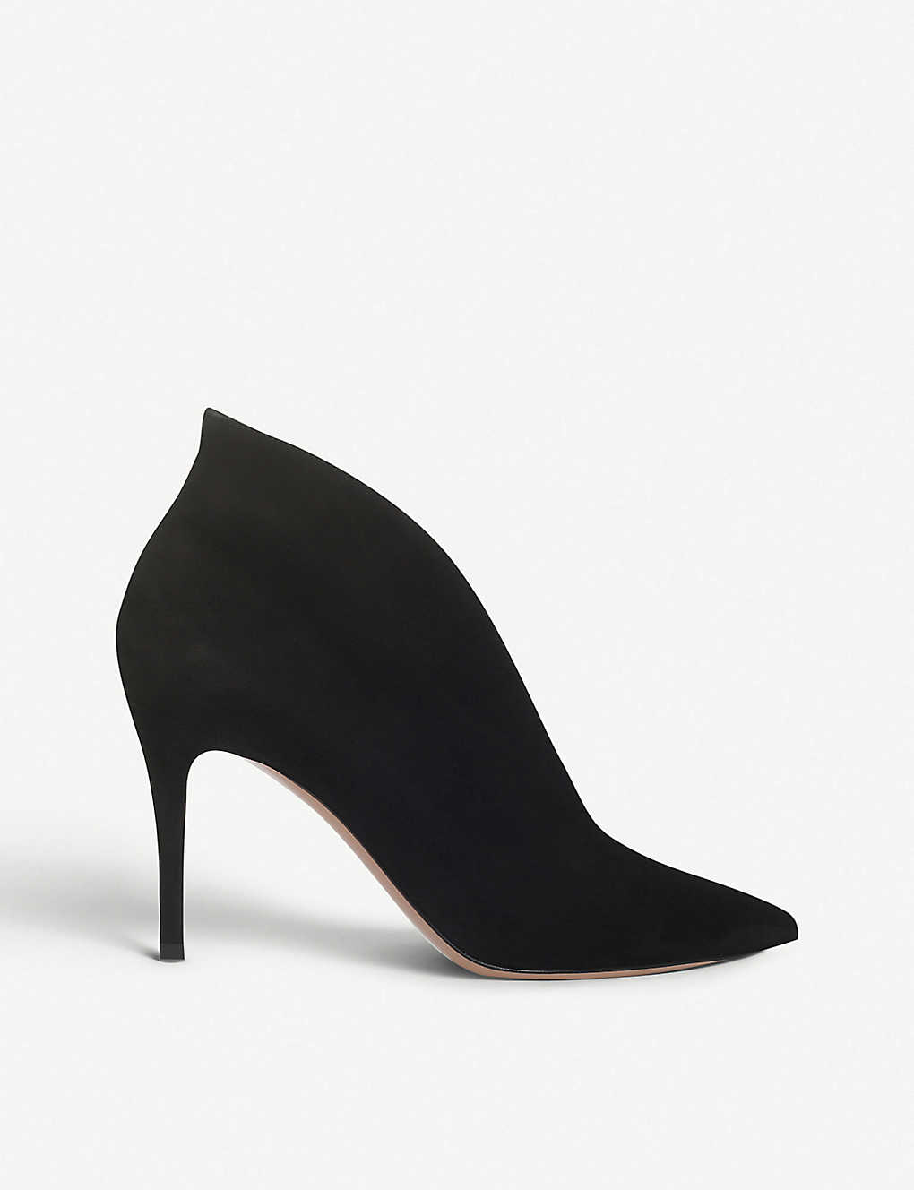 53c328619 GIANVITO ROSSI - Vania suede heeled ankle boots | Selfridges.com
