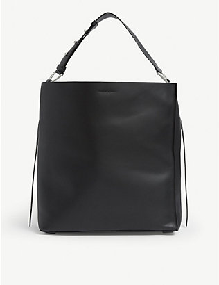 ALLSAINTS: Celadine North/South leather tote bag