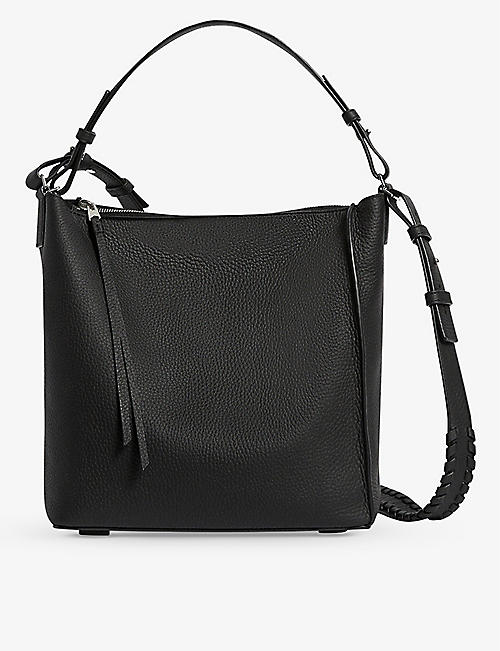 ALLSAINTS: Kita leather cross-body bag
