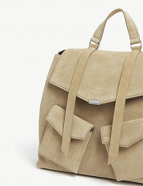 ALLSAINTS Ziggy leather backpack