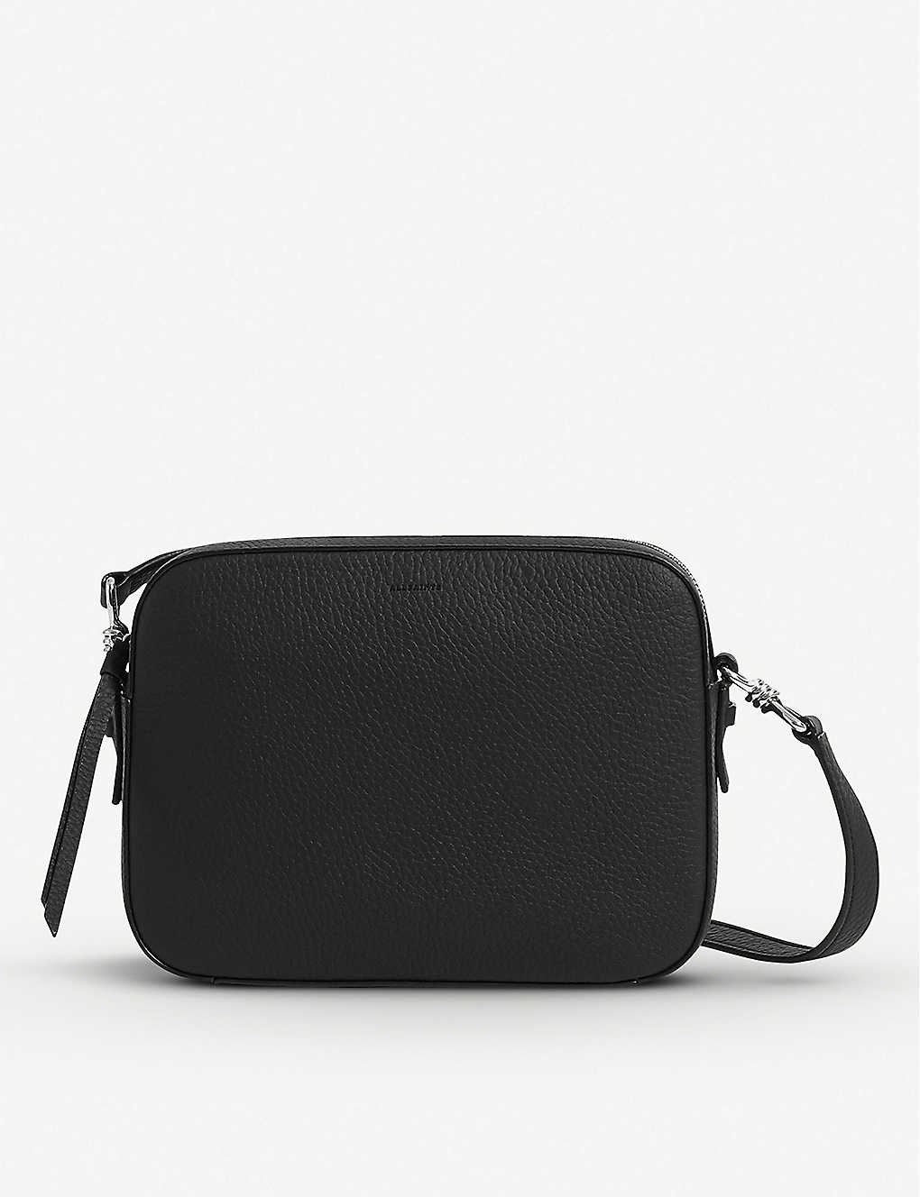 ALLSAINTS: Captain Lea leather cross-body bag