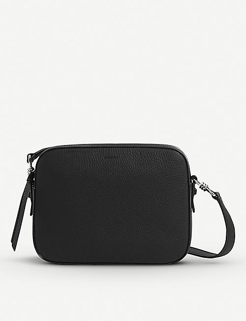 ALLSAINTS Captain Lea leather cross-body bag