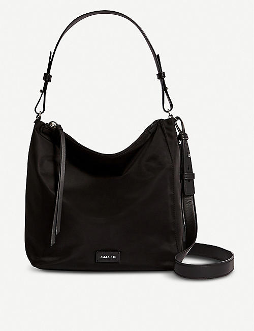ALLSAINTS Nilo kita woven cross-body bag