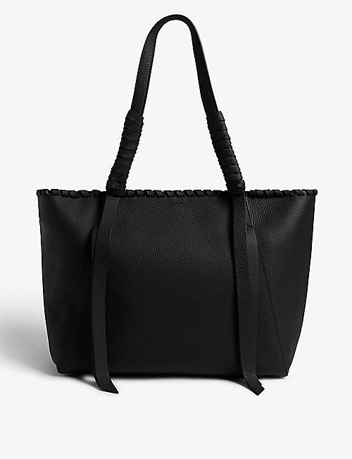 ALLSAINTS Kepi leather tote