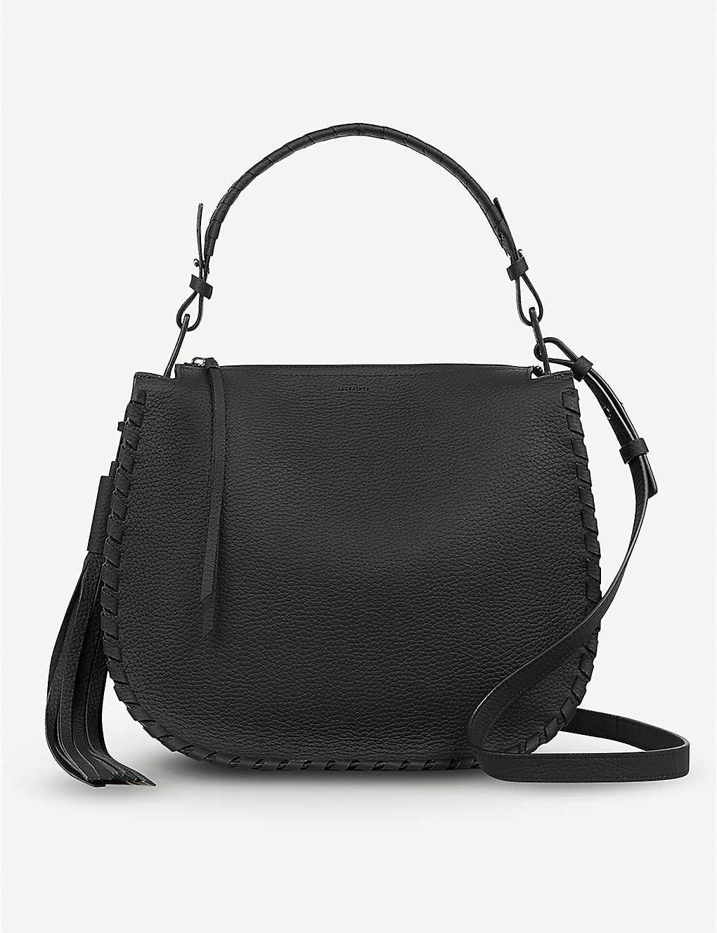 2086437f9caa29 ALLSAINTS - Mori leather hobo bag | Selfridges.com