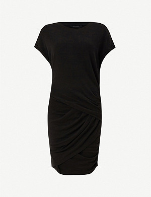 ALLSAINTS Freidala fitted stretch-woven mini dress