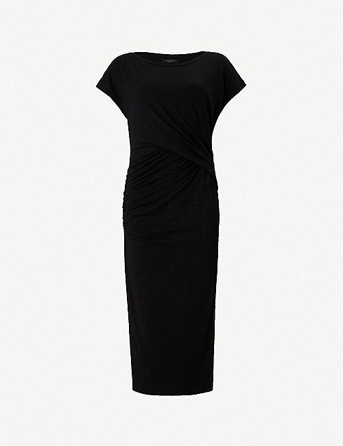 b63342a925 ALLSAINTS Kasia jersey dress