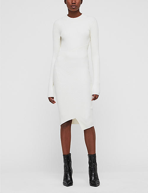 ALLSAINTS Amara midi dress