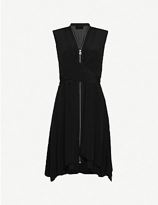 ALLSAINTS: Jayda silk dress
