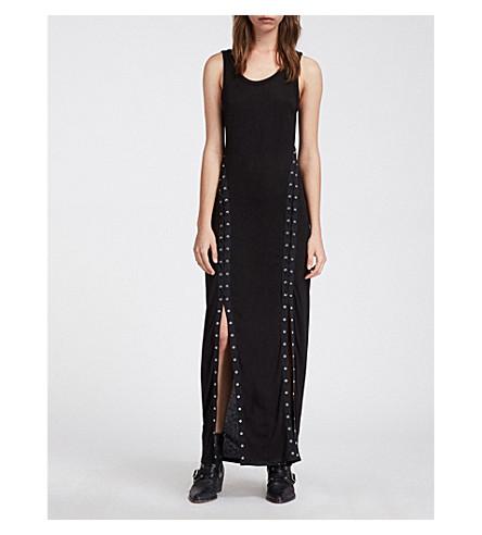 541c1686f57e ALLSAINTS kjole maxi jersey Svart Miller rRqX6r