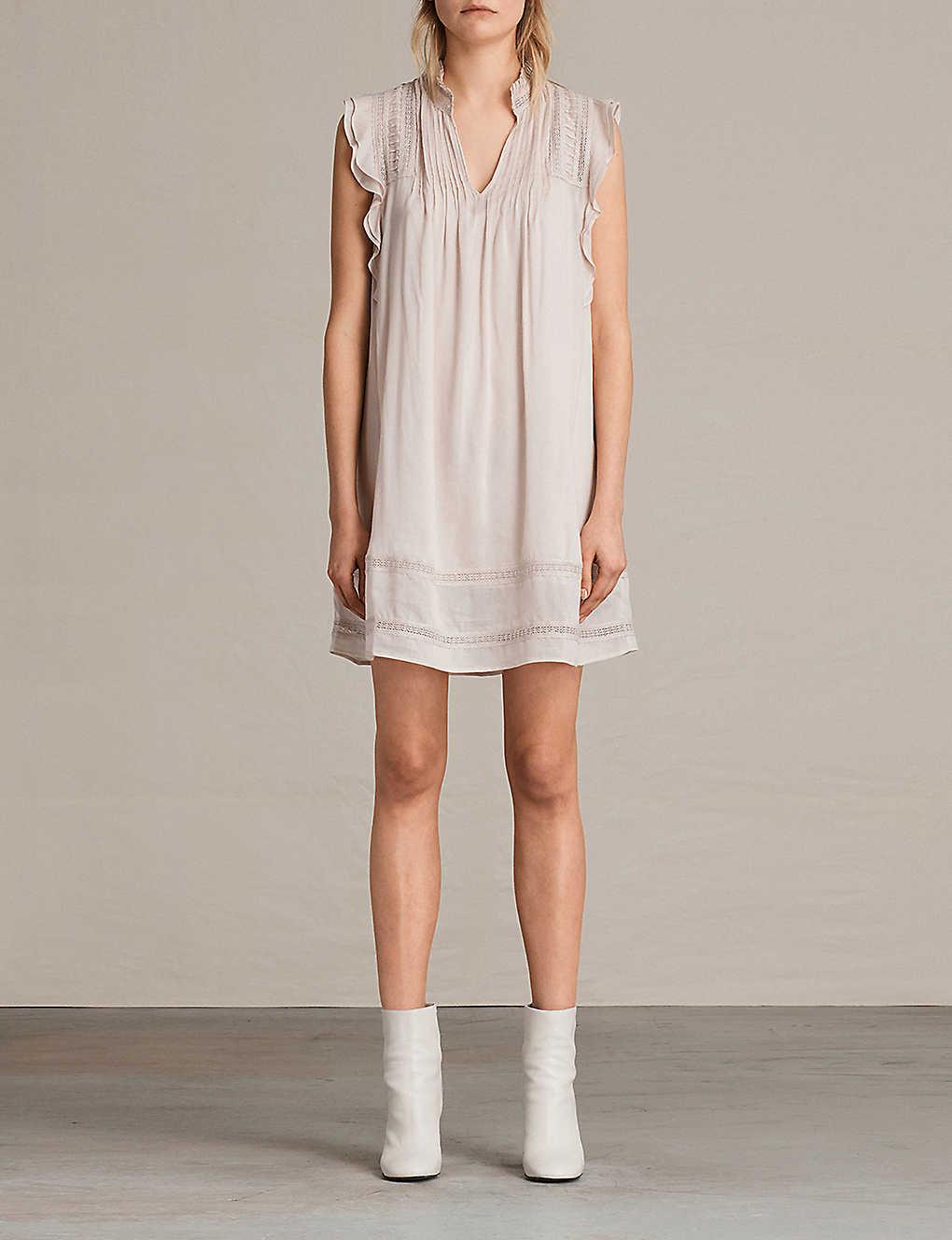 ALLSAINTS - Evelina swing dress | Selfridges com