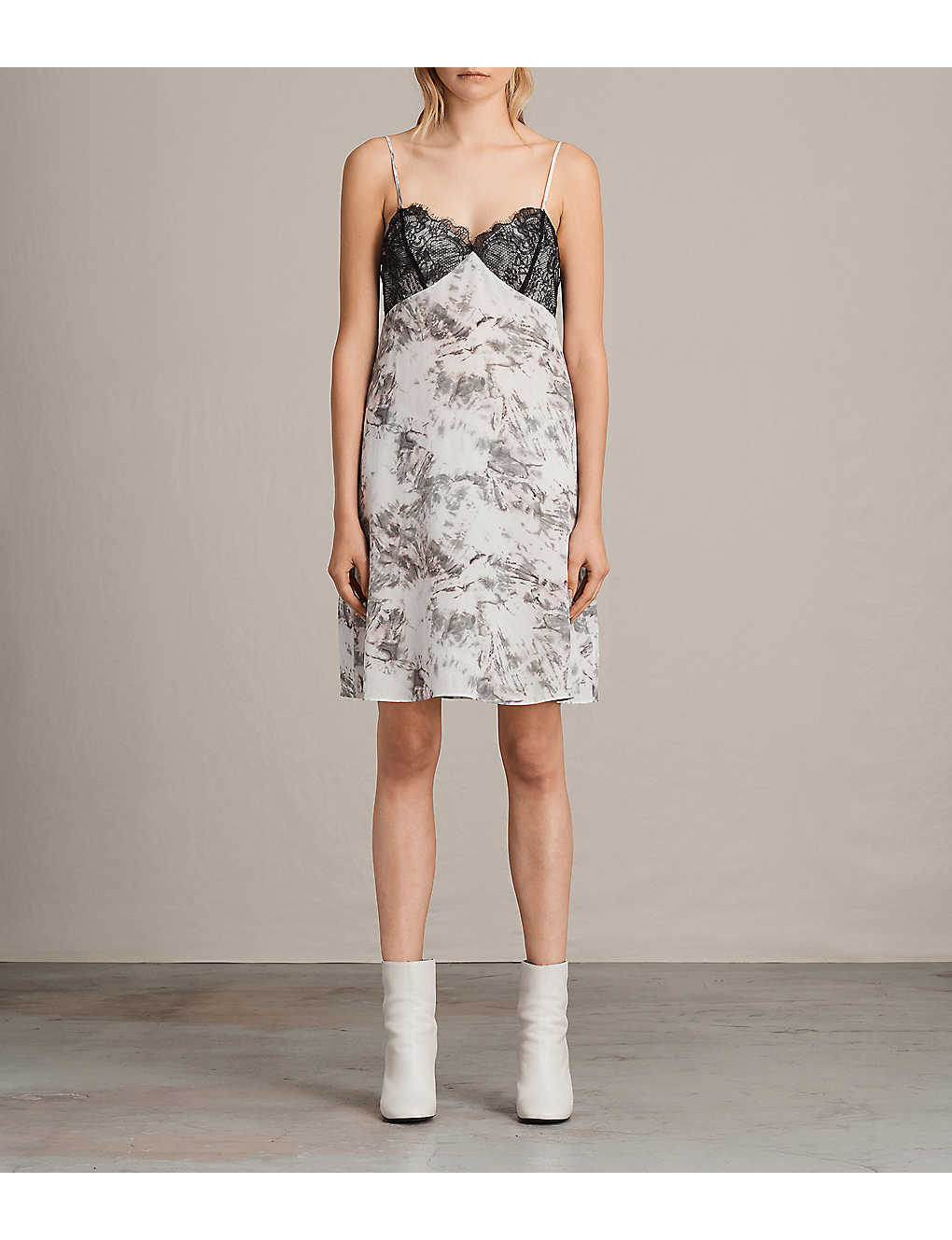 9b59ecc1cc5d ALLSAINTS - Ives Tyde Silk Dress | Selfridges.com