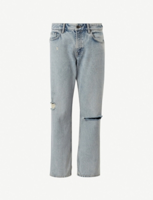ALLSAINTS Ava high-rise straight denim jeans