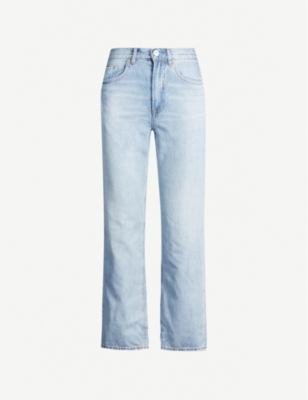 ALLSAINTS Gem straight high-rise boyfriend jeans