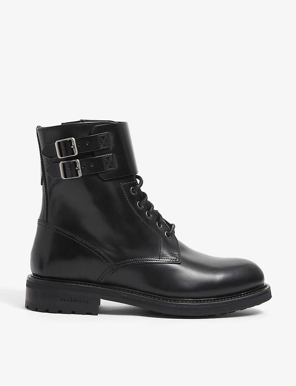 ALLSAINTS: Brigade leather ankle boots