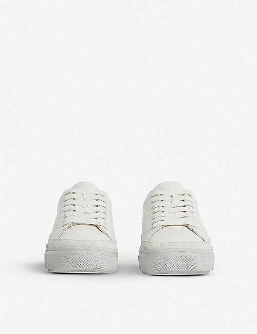 ALLSAINTS Isha leather trainers