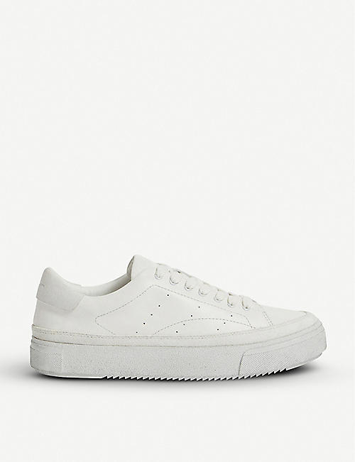 ALLSAINTS: Isha leather trainers